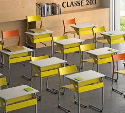Dpc mobilier scolaire salle de cours for Mobilier informatique scolaire