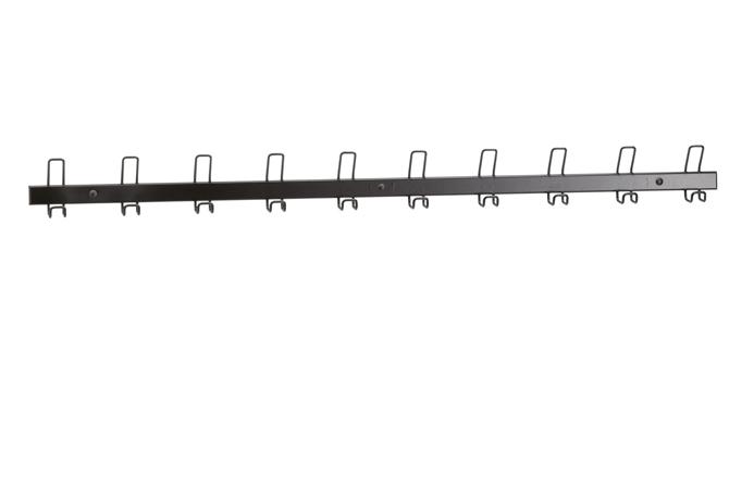 DPC - SCOLAIRE & SALLE DE COURS Lisse murale de 10 bipatères longueur 1460 mm