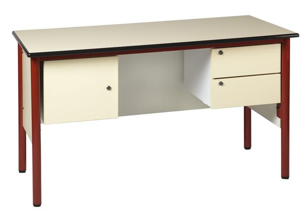 dpc scolaire salle de cours chaire de professeur 1300 x 650 mm avec 2 caissons 1 caisson. Black Bedroom Furniture Sets. Home Design Ideas