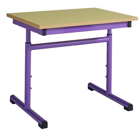 Table maternelle réglable