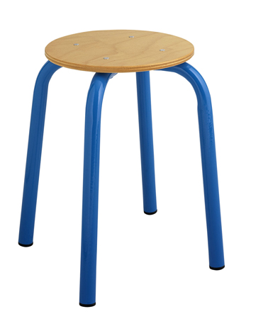 Tabouret maternelle assise ronde