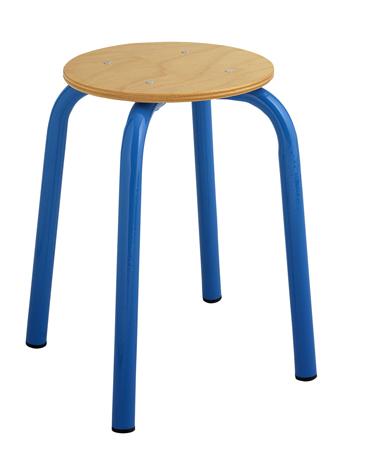 Tabouret maternelle assise ronde