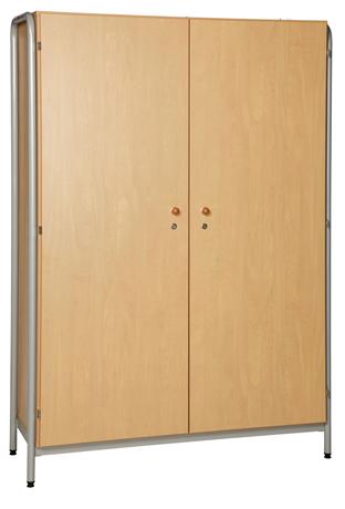 DPC - MATERNELLE Armoire 2 portes - piétement latéral métal