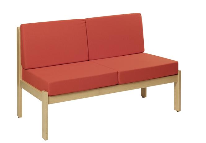dpc accueil chauffeuse parys 2 places sans accoudoirs. Black Bedroom Furniture Sets. Home Design Ideas