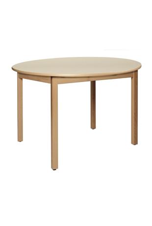DPC - RESTAURATION Table CYRENE 4 pieds en hêtre massif Photo 3