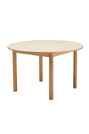 DPC - RESTAURATION Table CYRENE 4 pieds en hêtre massif Photo 5