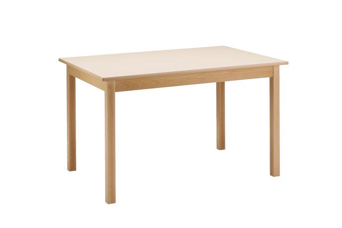 DPC - RESTAURATION Table CYRENE 4 pieds en hêtre massif Photo 7