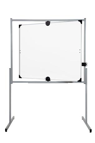 Tableau pivotant 100 x 120 cm émaillé blanc.