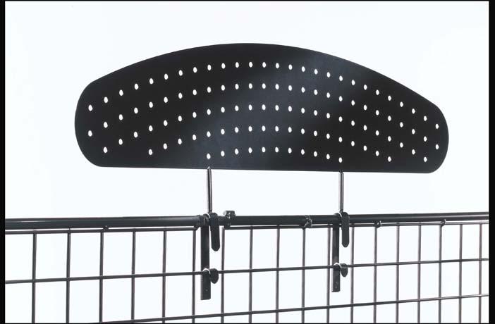 Signalisation tôle perforée largeur 700 mm