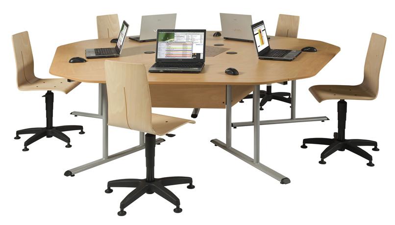 Dpc informatique bureaux marguerite paloma for Bureau marguerite 4 personnes