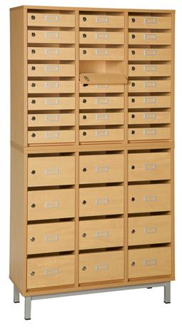 dpc scolaire salle de cours meuble courrier avec cases. Black Bedroom Furniture Sets. Home Design Ideas
