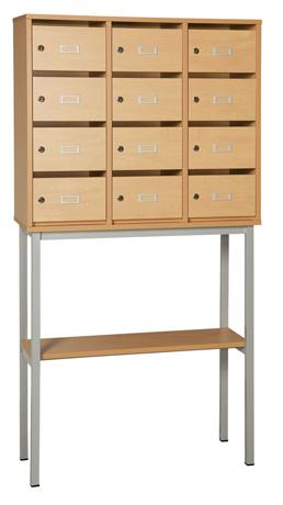 DPC - SCOLAIRE & SALLE DE COURS Piétement de meuble à courrier Photo 4