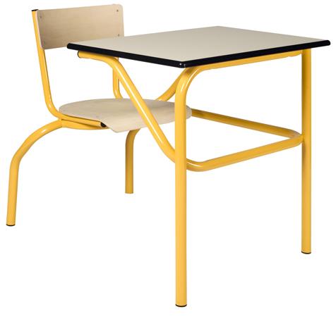 DPC - SCOLAIRE & SALLE DE COURS Table à siège(s) attenant(s) TASA Photo 2