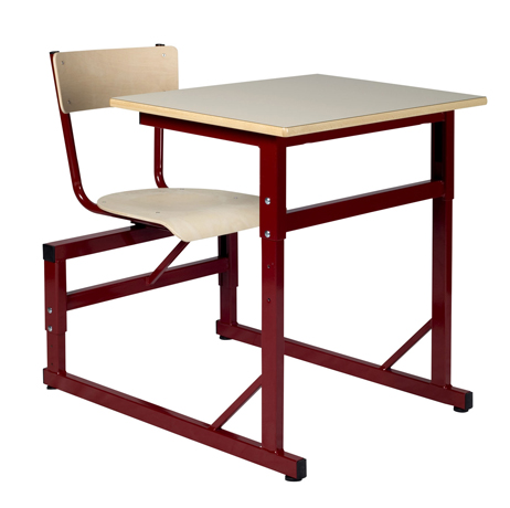 DPC - SCOLAIRE & SALLE DE COURS Table à sièges attenants réglable LODI Photo 2