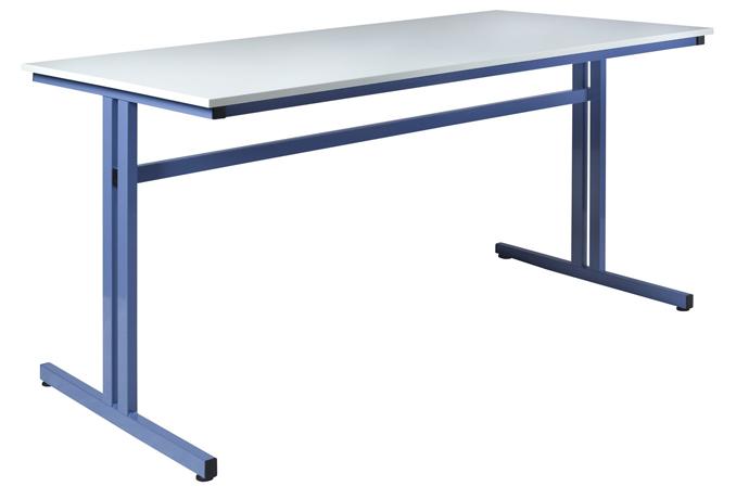 Table de travail grande hauteur 1100 mm - 1600 x 800 mm  chants ABS