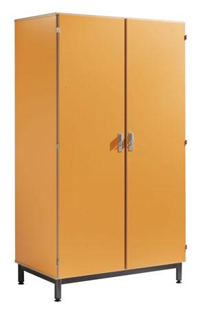 Armoire 2 portes 1/2 lingère 1/2 penderie par porte PYLOS