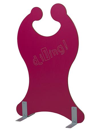 DPC - RESTAURATION Claustra enfant OULALA sur supports métalliques Photo