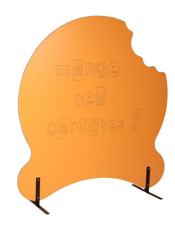 Claustra enfant MIAM sur supports métalliques