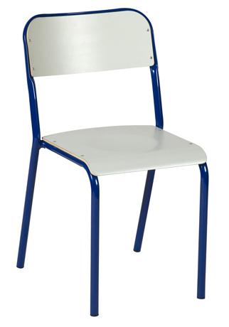 DPC - SCOLAIRE & SALLE DE COURS Chaise GALAXY - 4 pieds assise et dossiers stratifiés