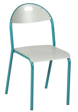 Chaise AMAPA 4 pieds - assise et dossier stratifiés