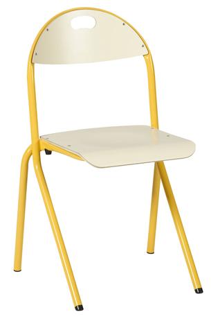 Chaise AMAPA - appui sur table - assise et dossier stratifiés