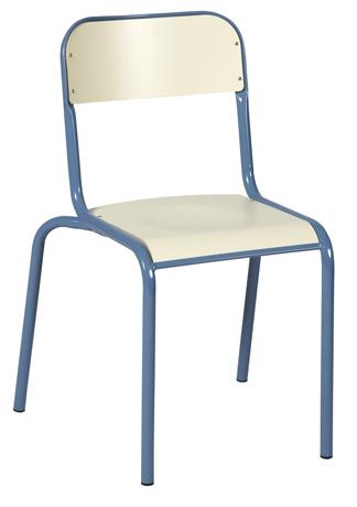 Chaise VLORE - assise et dossier finition stratifiés