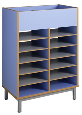 dpc maternelle meuble bi face haut maternelle avec couvercle amovible en partie haute. Black Bedroom Furniture Sets. Home Design Ideas
