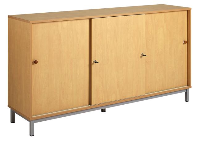 dpc maternelle meuble bas 3 portes coulissantes socle m tal. Black Bedroom Furniture Sets. Home Design Ideas