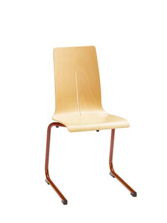 Chaise DETROIT - appui sur table - piétement aluminium