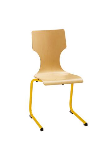 Chaise DENVER - appui sur table - piétement aluminium