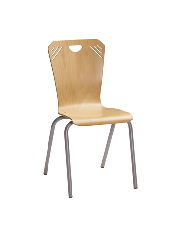 DPC - Chaise ATLANTA 4 pieds ø25mm