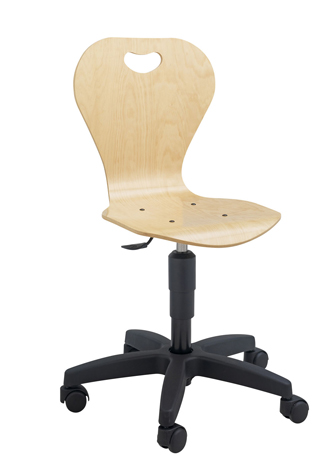 Chaise informatique sur roulettes DALLAS