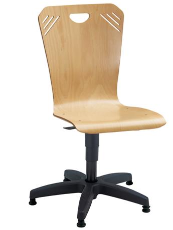 DPC - INFORMATIQUE & BUREAUX Chaise informatique ATLANTA sur patins glisseurs
