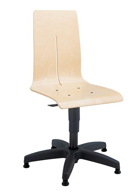 Chaise informatique DETROIT sur patins glisseurs