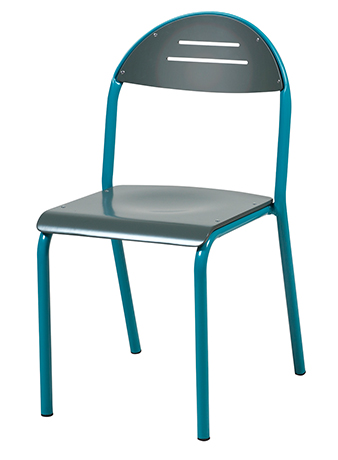 Chaise TANAÏS 4 pieds en aluminium