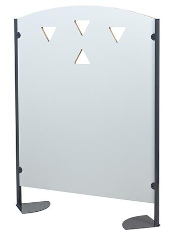 Claustra XICO sur supports métalliques