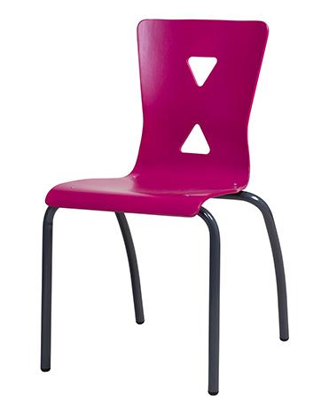 DPC - Chaise coque bois 4 pieds XICO.
