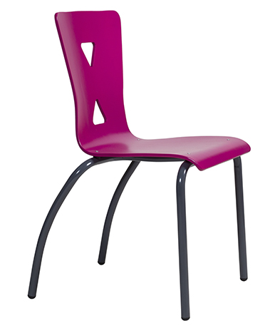 DPC - RESTAURATION Chaise coque bois 4 pieds XICO. Photo