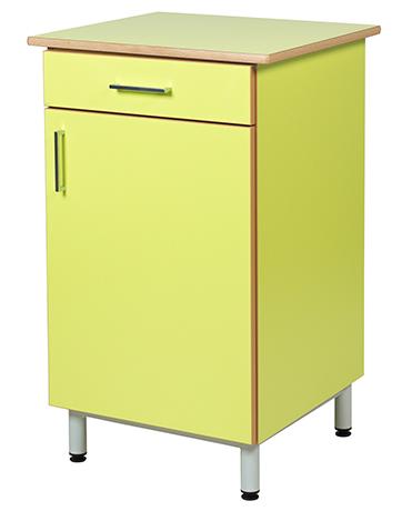 Buffet ZANA 1 porte 1 tiroir, LHP : 60 x 102 x 55 cm