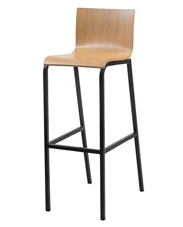 Dpc restauration chaise appui sur table 4 pieds zana for 4 pieds 4 chaises rouen