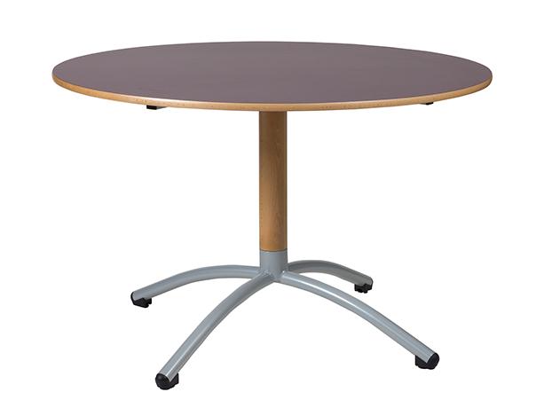 Table OXIAL à piétement central