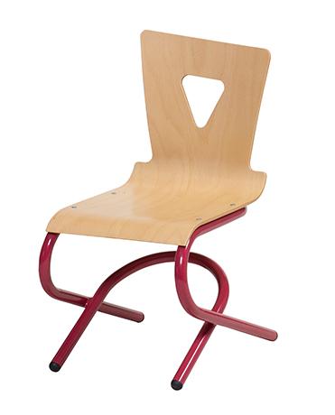 DPC - RESTAURATION Chaise OXIAL appui sur table basculant piétement en aluminium Photo