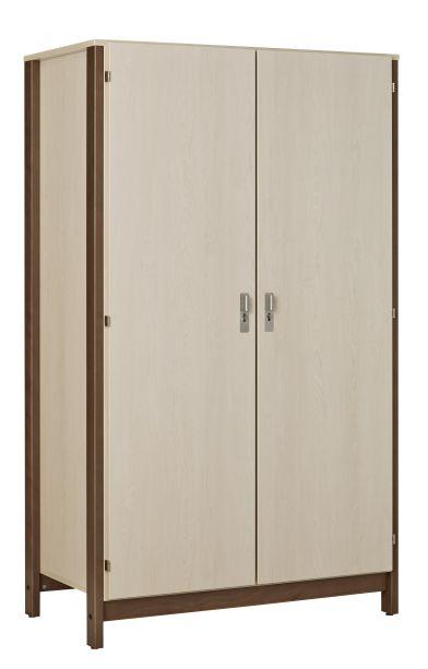 Dpc hebergement armoire 2 portes nyxos tout penderie structure en h t - Structure armoire penderie ...
