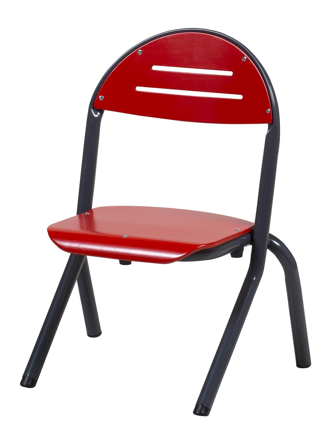 Chaise TANAÏS appui sur table en aluminium