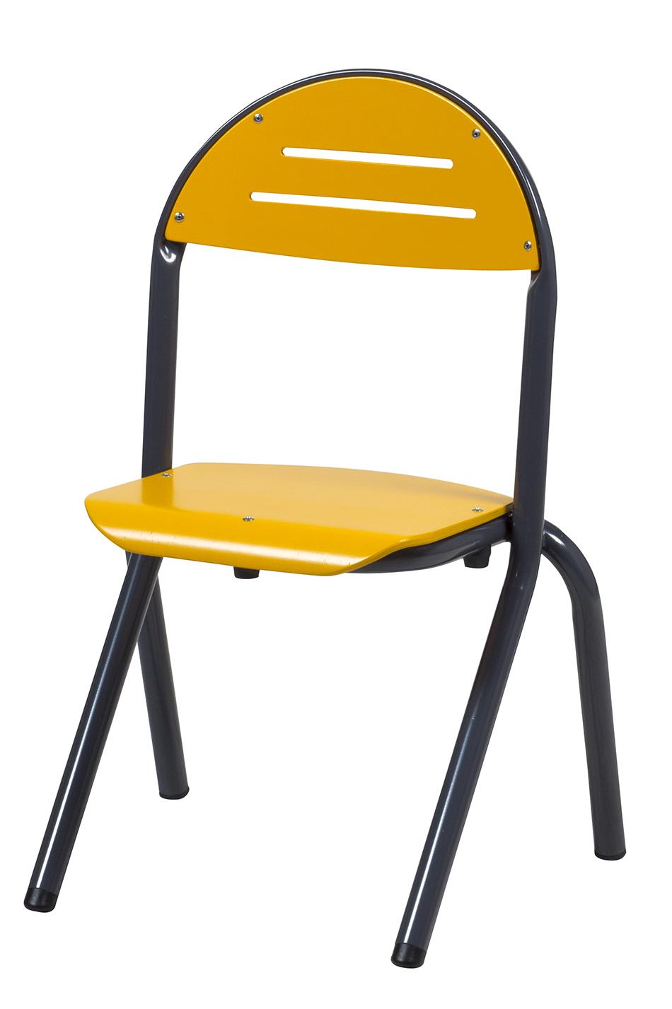DPC - RESTAURATION Chaise TANAÏS appui sur table en aluminium Photo