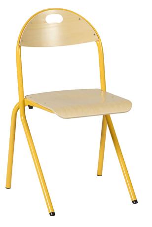 Chaise AMAPA, Appui sur Table, coque multiplis piètement Alu