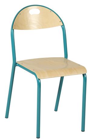 Chaise AMAPA - 4 pieds Alu - coque multiplis