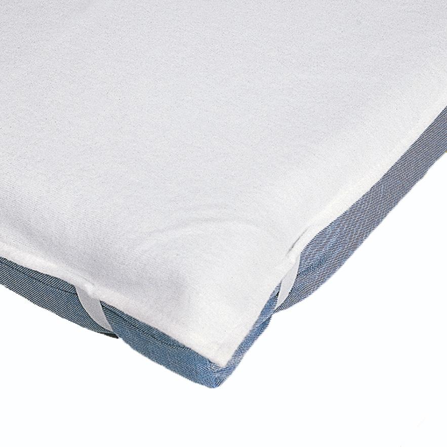 Alèze forme plateau pour couchette et matelas