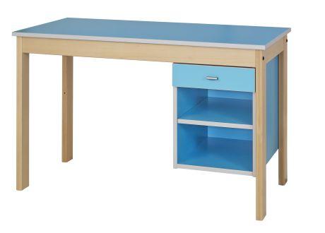 Dpc hebergement bureau avec niche et tiroir nyxos for Bureau avec niche