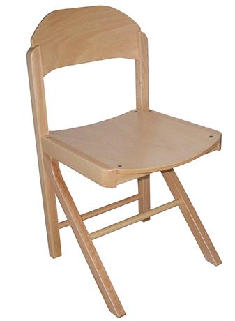Chaise CYRENE  - appui sur table - assise et dossier pleins - Taille 6
